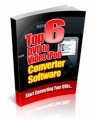 Top 6 Dvd To Video Ipod Converter Software PLR Ebook