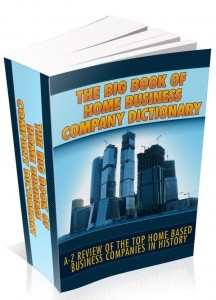 The Big Book Of Home Business Company Directory Mrr Ebook