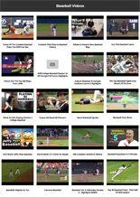 Baseball Instant Mobile Video Site MRR Software