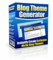Blog Theme Generator MRR Software