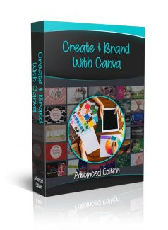 Create & Brand With Canva – Advanced Edition Personal Use Video With Audio
