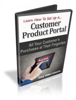 Customer Product Portals MRR Video