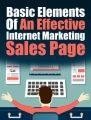 Effective Internet Marketing Sales Page PLR Ebook