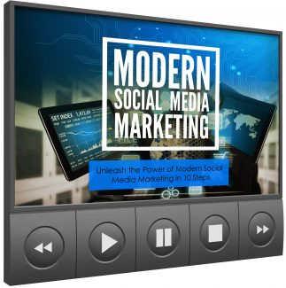 Modern Social Media Marketing – Video Upgrade MRR Video With Audio