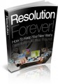 Resolution Forever Give Away Rights Ebook