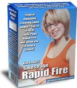 Sales Page Rapid Fire MRR Software