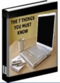 The 7 Things You Must Know Give Away Rights Ebook