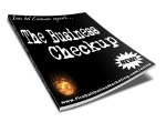 The Business Checkup Resale Rights Ebook