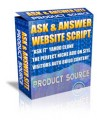 Ask  Answer Website Script MRR Script