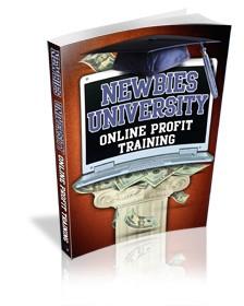 Newbies University – Online Profit Training MRR Ebook