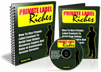 Private Label Riches Mrr Ebook With Audio