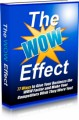The WOW Effect Give Away Rights Ebook