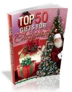 Top 50 Gifts Christmas Mrr Ebook