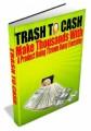 Trash To Cash Plr Ebook