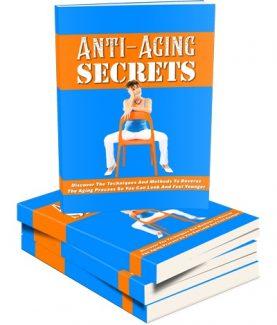 Anti Aging Secrets MRR Ebook