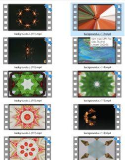 Backgrounds Stock Videos Seven – V2 MRR Video