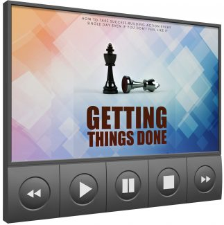 Getting Things Done Upgrade MRR Video
