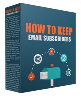How To Keep Your Email Subscribers Giveaway Rights Video With Audio
