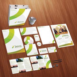 Janco Print Design Personal Use Template