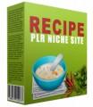 Recipe Plr Niche Blog V2 PLR Template