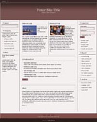 Responsive Magazine Style Template 2 PLR Template
