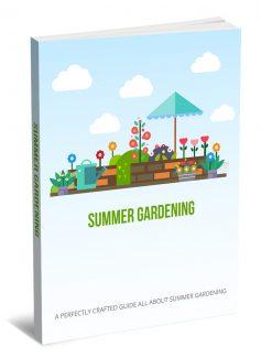 Summer Gardening MRR Ebook