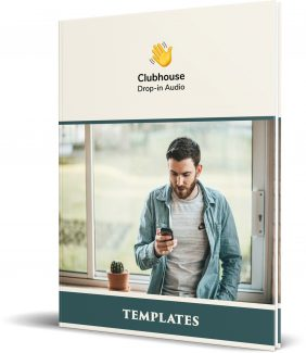 Templates For Clubhouse App For Marketing Personal Use Template