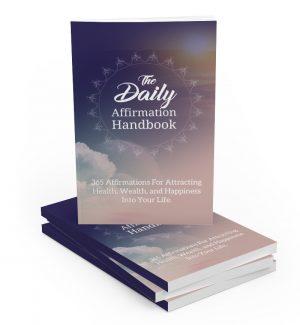 The Daily Affirmation Handbook MRR Ebook