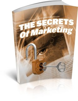 The Secrets Of Marketing MRR Ebook