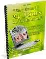 Earn 100 In 24 Hours PLR Ebook