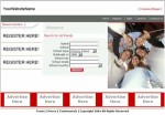 Classmates Website Red Personal Use Template