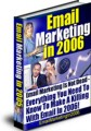 Email Marketing In 2006 MRR Ebook