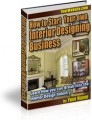 How To Start Your Own Interior Designing Business ...