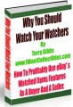 Why You Should Watch Your Watchers MRR Ebook