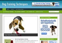 Dog Training Niche Blog Personal Use Template With Video