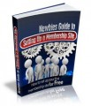 Newbies Guide To Setting Up A Membership Site MRR Ebook