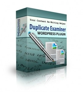 Duplicate Examiner WordPress Plugin Personal Use Script