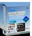 Twitter Friends Widget Give Away Rights Software