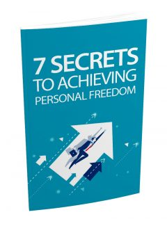 7 Secrets To Achieving Personal Freedom MRR Ebook With Audio