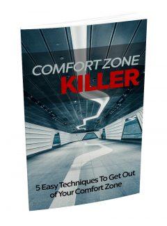 Comfort Zone Killer MRR Ebook With Audio