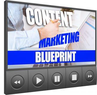 Content Marketing Blueprint Upgrade MRR Video