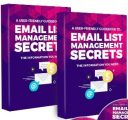 Email List Management Secrets PLR Ebook With Audio