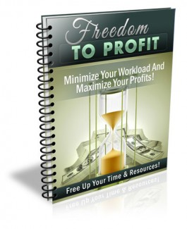 Freedom To Profit PLR Ebook