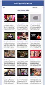 Home Schooling Video Site Builder MRR Software