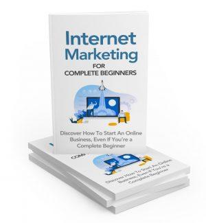Internet Marketing For Complete Beginners MRR Ebook