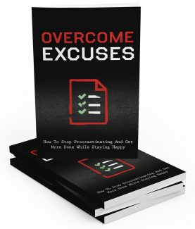 Overcome Excuses MRR Ebook