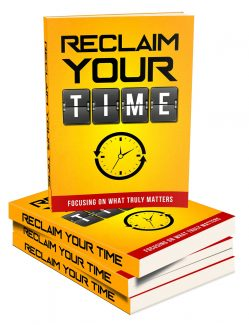 Reclaim Your Time MRR Ebook
