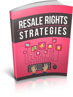 Resale Rights Strategies MRR Ebook
