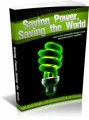 Saving Power Saving The World MRR Ebook