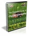 Essential Guide To Organic Gardening PLR Ebook